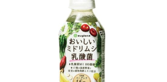 ユーグレナ「おいしいミドリムシ乳酸菌_健康産業新聞」