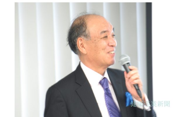 健康産業新聞1645_09_鶴見隆史氏